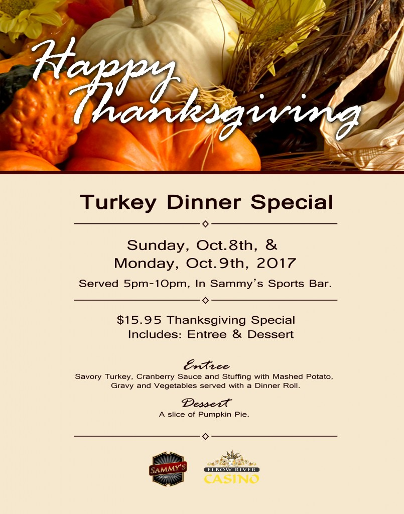 Thanksgiving 2017 Special 22x28