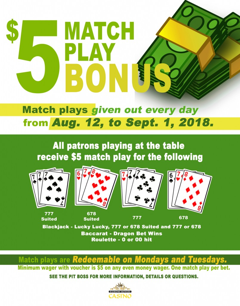 Match play bonus copy