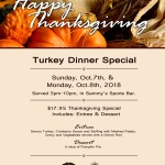 Thanksgiving Special 2018